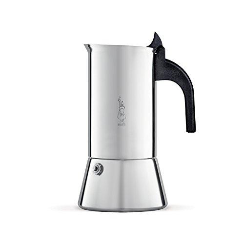 Bialetti Venus Espressokocher für induktion, Stahl, Silber,...