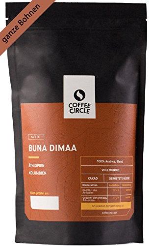 Coffee Circle | Premium Kaffee Buna Dimaa | 350g ganze Bohne...