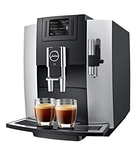Jura 15084 E8 Kaffeevollautomat / A / platin /  TFT-Display...