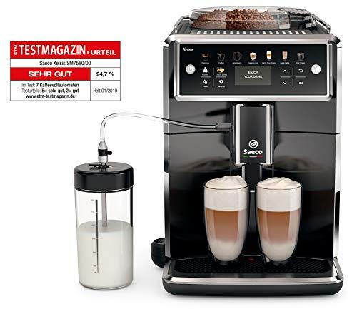 Saeco Xelsis SM7580/00 Kaffeevollautomat (LED Display, DE...
