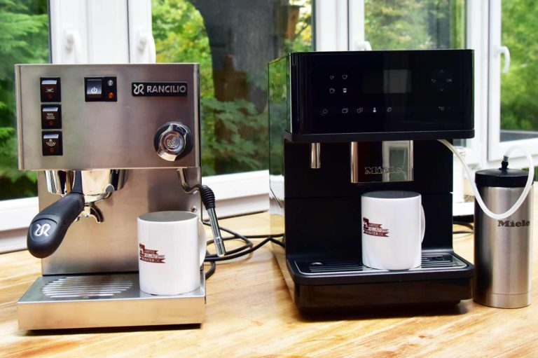 Kaffeevollautomat vs. Espressomaschine