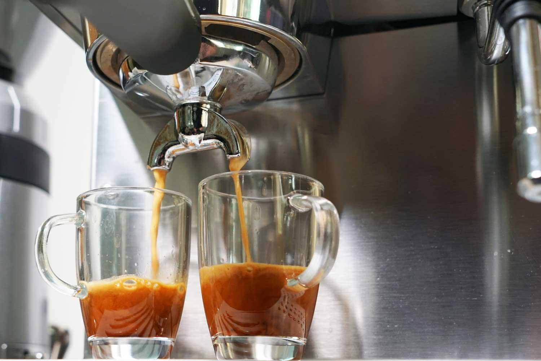 Espressomaschine - Rancilio-Silvia Espressobezug