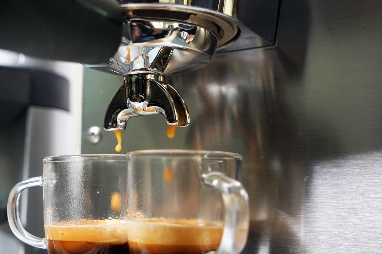 Espresso brühen