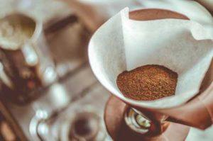 Kaffee Papierfilter