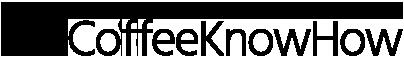 coffeeknowhow Logo schwarz